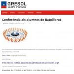 GRESOL conferencia xarxes socials