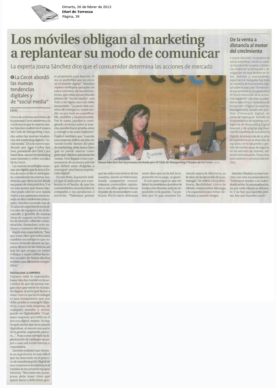 conferencia joana sanchez cecot diariterrassa