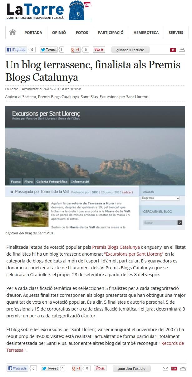 latorre blog excursions sant llorenç