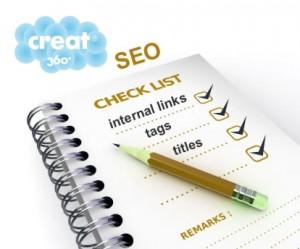 seo checklist creat360