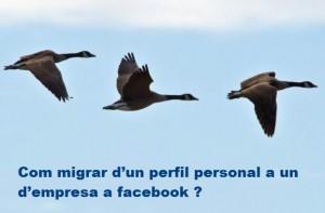 migrar perfil facebook - creat360