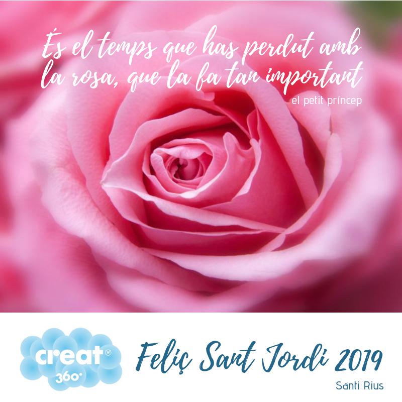 Sant Jordi Creat360 2019